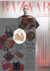 Ozakii London Bag in Harper's Bazaar magazine