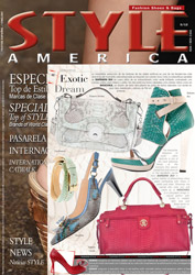 Ozakii London Bag in Waterfront magazine