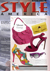 Ozakii London Bag in Style America Magazine